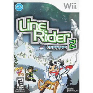 Line Rider Unbound 2 - Wii Game