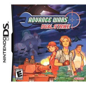 Advance Wars Dual Strike Empty Case For Nintendo DS