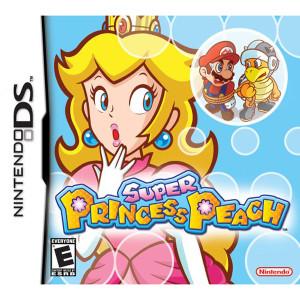 Super Princess Peach Empty Case For Nintendo DS