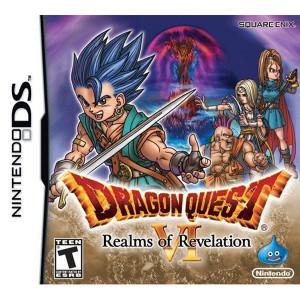 Dragon Quest VI Empty Case For Nintendo DS