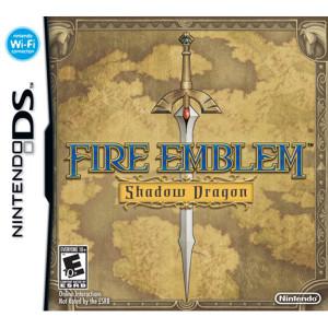 Fire Emblem Shadow Dragon Empty Case For Nintendo DS