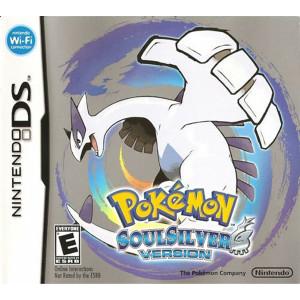 Pokemon SoulSilver Empty Case For Nintendo DS