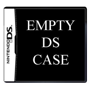 Empty Nintendo DS Case