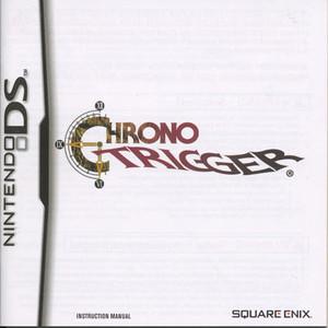 Chrono Trigger Manual For Nintendo DS