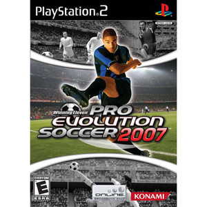 Pro Evolution Soccer 2007 - PS2 Game
