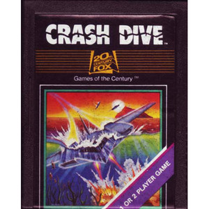Crash Dive - Atari 2600 Game