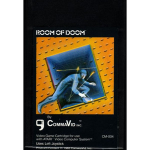 Room of Doom - Atari 2600 Game