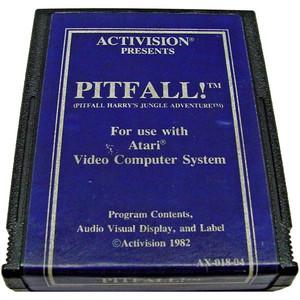 Pitfall! (Blue Label) - Atari 2600 Game
