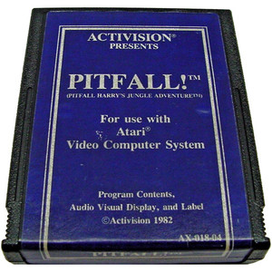 Pitfall! (Blue Label) - Atari 2600 Game