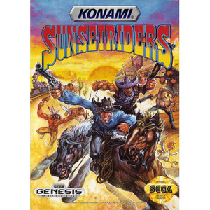 Complete Sunset Riders - Genesis Game