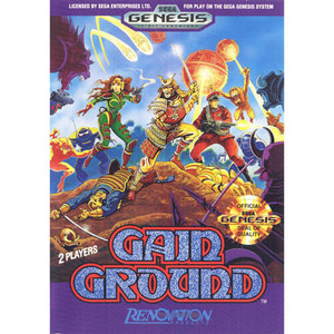 Gain Ground - Genesis Game