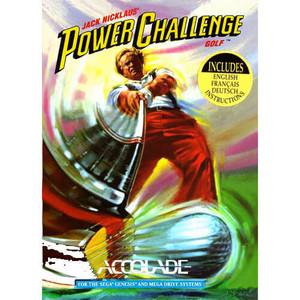 Complete Jack Nicklaus Power Challenge Golf - Genesis Game