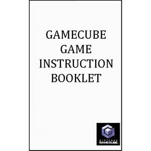 Tony Hawk's Pro Skater 3 Nintendo GameCube Manual For Sale