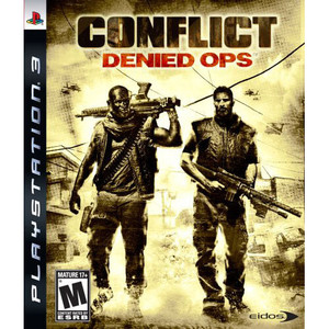Conflict Denied Ops - PS3 Game