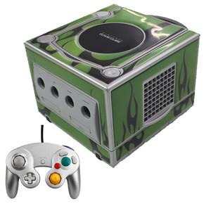 GameCube Green Flames Platinum Player Pak