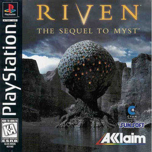 Riven The Sequel to Myst - PS1 Game