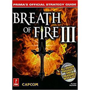Breath of Fire III - Prima Strategy Guide