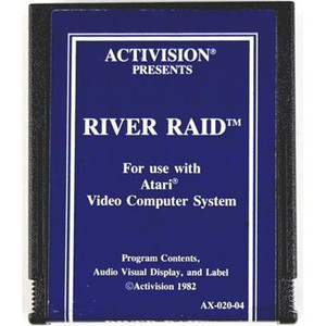 River Raid (Blue Label) - Atari 2600 Game