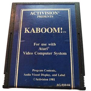 Kaboom (Blue Label) - Atari 2600 Game