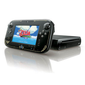 Legend Of Zelda 32GB Black Wii U System Pak