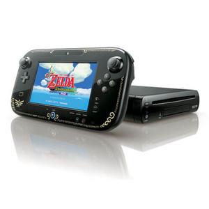 Legend Of Zelda 32GB Black Wii U System Pak