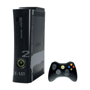 Microsoft Xbox 360 Modern Warfare 2 250 GB Black Player Pak