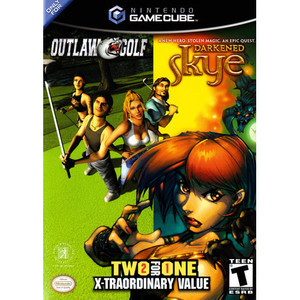 Outlaw Golf/Darkened Skye - GameCube Game