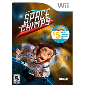 Space Chimps - Wii Game