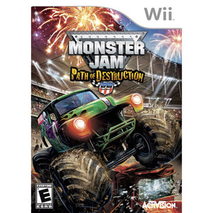 Monster Jam Path of Destruction - Wii Game