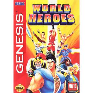 Complete World Heroes - Genesis Game