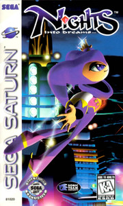 Nights into Dreams - Saturn Game