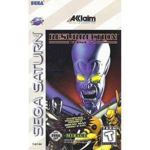 Resurrection Rise 2 complete Sega Saturn CIB game for sale online.