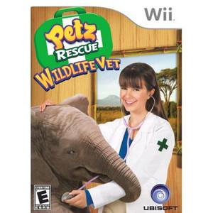 Petz Rescue Wildlife Vet - Wii Game