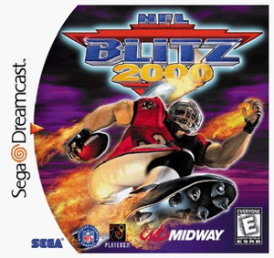 NFL Blitz 2000 Football - Dreamcast Game