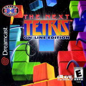 The Next Tetris On-Line Edition - Dreamcast Game