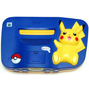 Pokemon Pikachu N64 Console Only