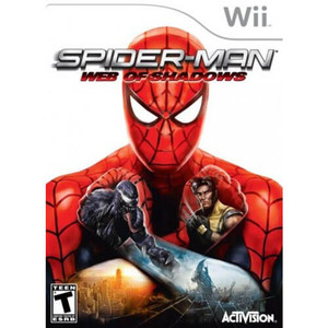 Spider-Man Web of Shadows - Wii Game