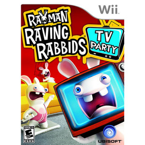 Rayman Raving Rabbids TV Party - Wii Game