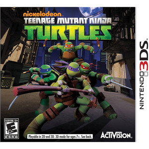 Nickelodeon Teenage Mutant Ninja Turtles - 3DS Game