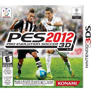Pro Evolution Soccer 2012 3D - 3DS Game