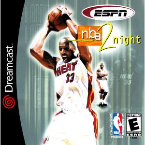 ESPN NBA 2Night Dreamcast Game