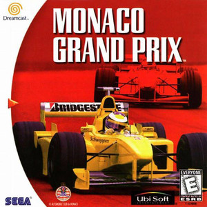 Monaco Grand Prix Dreamcast Game