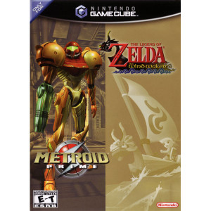 Metroid Prime & The Legend of Zelda The Wind Waker - GameCube Game