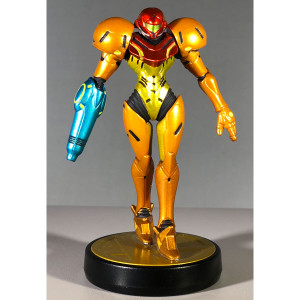 Samus Amiibo Loose Figure from Metroid For Sale.