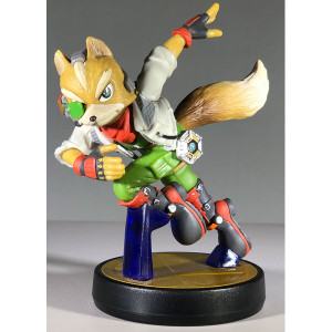 Fox McCloud Amiibo Super Smash Bros Loose Figure from Star Fox For Sale
