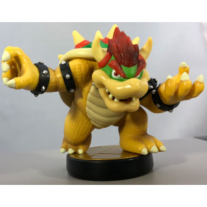 Bowser Amiibo Loose Figure Nintendo Used Toy For Sale