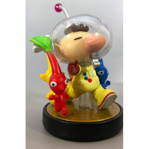 Olimar & Pikmin Amiibo Loose Figure Nintendo Used Toy For Sale