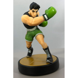 Little Mac from Punch-Out Amiibo Loose Figure Nintendo Used Toy For Sale