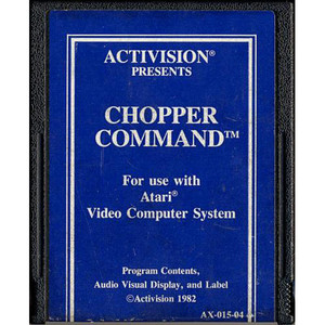 Chopper Command (Blue Label) - Atari 2600 Game