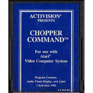 Chopper Command (Blue Label) - Atari 2600 Game